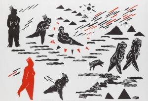 Tomasz Ciecierski (Ur. 1945), Wschody i zachody słońca, 1986