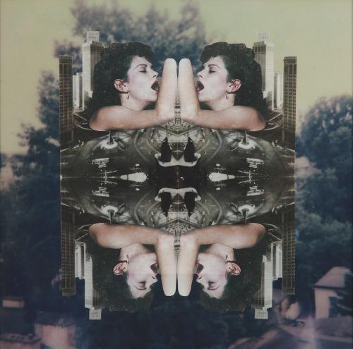Amanda Wieczorek (Ur. 1989), She requires a vision, z cyklu Mirror Dialogues, 2016