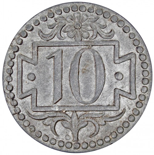 10 fenigów 1920 mała cyfra