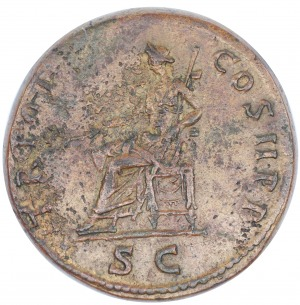 Trajan AE-sestercja 98-117 n.e.