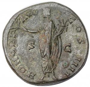 Antoniusz Pius AE-sestercja 138-161 n.e.
