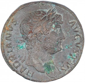 Hadrian AE-sestercja 117-138 n.e.