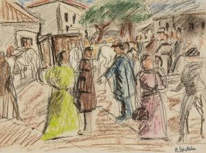 Henryk EPSTEIN (1892-1944), Na rynku