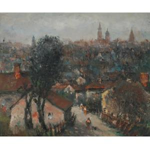 Włodzimierz DMYTRYSZYN (1905-1992), Przedmieścia Krakowa
