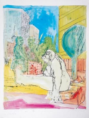Edward DWURNIK (ur. 1943), Figura na przetrwanie, 1985