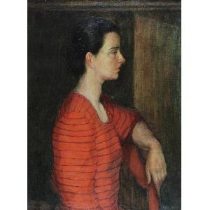 Stanisław KRZYSZTAŁOWSKI (1903-1990), Portret kobiety