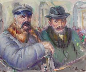 Marian ADAMCZYK (ur. 1938), Piłsudski i Witos