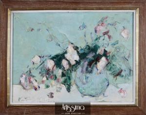 Terlikowski Włodzimierz, Kwiaty w wazonie, 1929