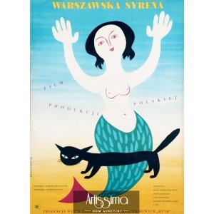 Lipiński Eryk, Plakat filmowy Warszawska Syrena, 1956