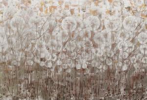 Mariola Świgulska, Struktura łąk, z cyklu Zauroczona Dmuchawcami, 2016
