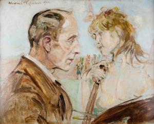 Wlastimil Hofman, Malarz zmuzą, 1918