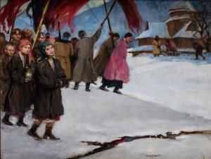 Teodor Axentowicz, Święto Jordanu