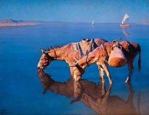 Adam Styka, Nad brzegiem Nilu
