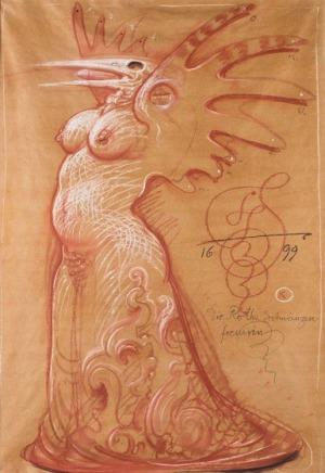 Franciszek Starowieyski, Die rothe schwanzen fressern 1699, 1999