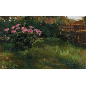 Marian JÓZEFCZYK, OGRÓD, 1912
