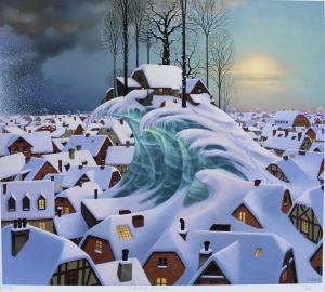 Jacek Yerka (ur. 1952), Zimowa Fala