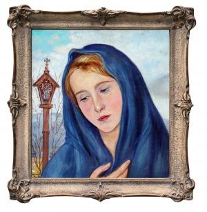 Wlastimil Hofman (1881 – 1970), Madonna, 1955 r.