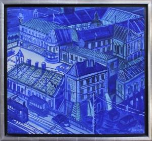 Edward Dwurnik (ur. 1943), Miasto, 1994 r.