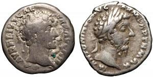 Rzym Marek Aureliusz AR-denar 2 szt.