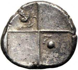 Tracja Chersones hemidrachma ok. 386-338 r.p.n.e.