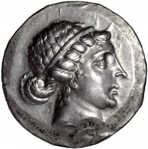 Grecja Aeolis Kyme AR-tetradrachma 165-140 r.p.n.e.