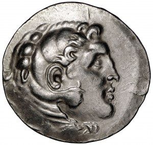 Grecja Aleksander Wielki AR-tetradrachma mennica Temnos emisja pośmiertna