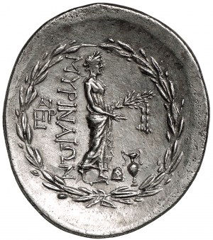 Aiolis Myrina AR-tetradrachma ok. 155-145 r. p.n.e.