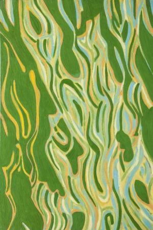 Jolanta Johnsson (1955), 6 z cyklu Pejzaże zawirowane (2014)