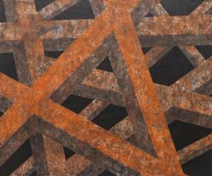 Tomek Mistak (1978), Corten Structure Detail (2015)