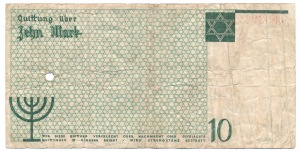 10 marek 1940 znak wodny num. typ 2 - bardzo rzadkie