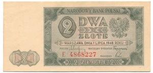 2 zloty 1948 - E -