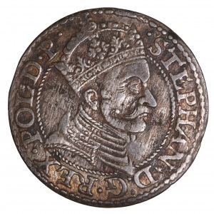 Stefan Batory, grosz 1579 Gdańsk