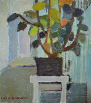Łukasz Breitenbach, Rododendron na tle korytarza