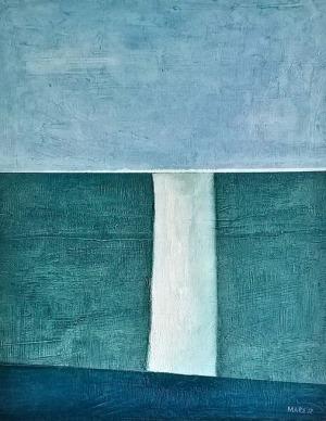 Mariusz Stawarski, Niebieski pejzaż