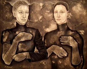 Dorota Kuźnik, Hidden children-hidden mothers, 2017