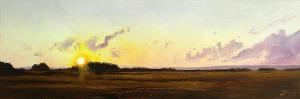Konrad Hamada, Zachód słońca, 2017