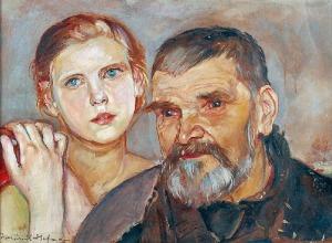 Wlastimil HOFMAN (1881-1970), Starość i młodość