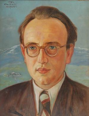 Wlastimil HOFMAN (1881-1970), Portret Jerzego Horodyńskiego