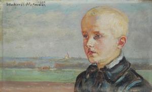 Wlastimil HOFMAN (1881-1970), Portret chłopca