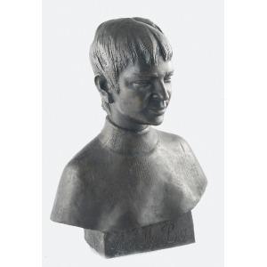 """Marian KONIECZNY (1930-2017), Popiersie chłopca - """"La belle Bo…"""", 1998"""