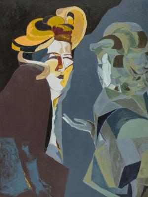 Małgorzata Fenrych, Dwie kobiety, 2017