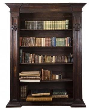 Regał biblioteczny (An Italian walnut bookcase)
