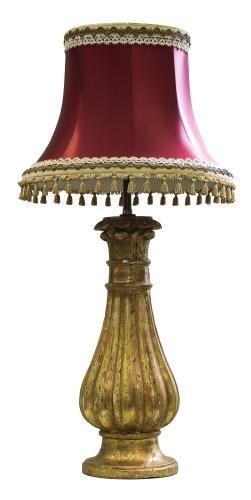 Lampa (An Italian giltwood lamp)