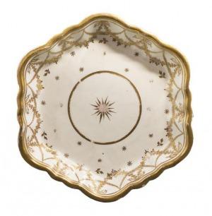 Podstawka porcelanowa (A hexagonal porcelain dish)