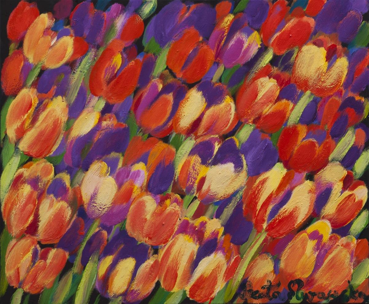 Beata Murawska, Gorące tulipany, 2017