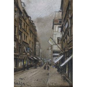 Odo DOBROWOLSKI, RUE DU TEMPLE W PARYŻU, 1911