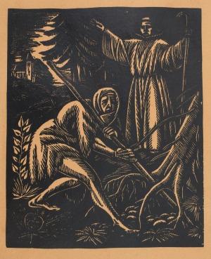 """Władysław SKOCZYLAS, ILUSTRACJE DO KSIĄŻKI """"KLASZTOR I KOBIETA"""" STANISŁAWA WASYLEWSKIEGO, 1923, wyd. 1936"""