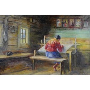 Sylweriusz Saski (1863-1954), Tkaczka