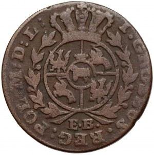 Poniatowski, Grosz 1786 E.B. - rzadki rocznik