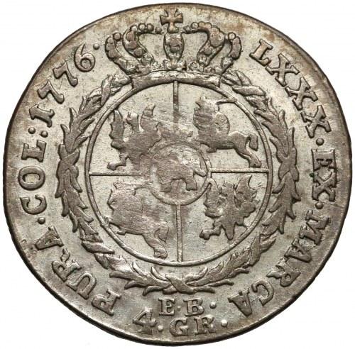 Poniatowski, Złotówka 1776 E.B.